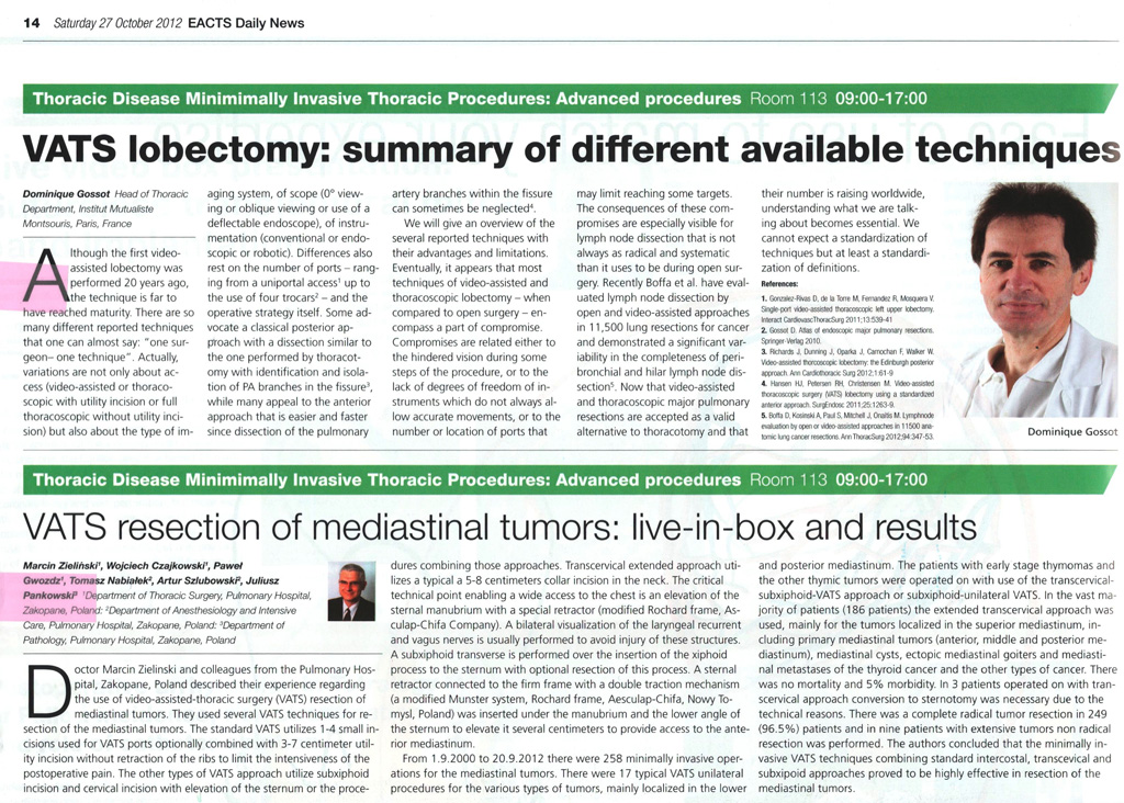VATS lobectomy: summary of different available techniques